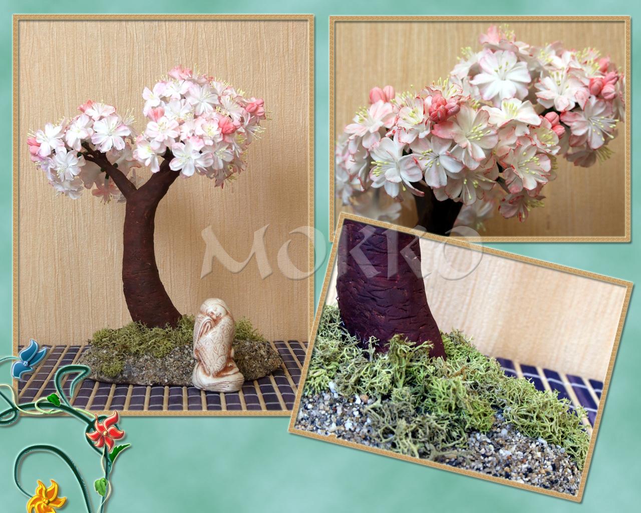 Как сделать дерево из полимерной глины своими руками