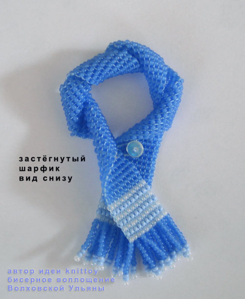 "Шаг 31 - Мастер-класс ""Мишка Снежок, или амигуруми без крючка и пряжи -)"""
