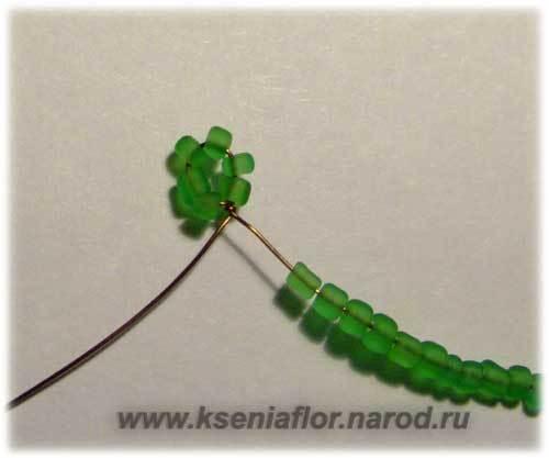 Шаг 1 - Рябина из бисера: мастер-класс своими руками. Схема плетения с пошаговым фото для начинающих