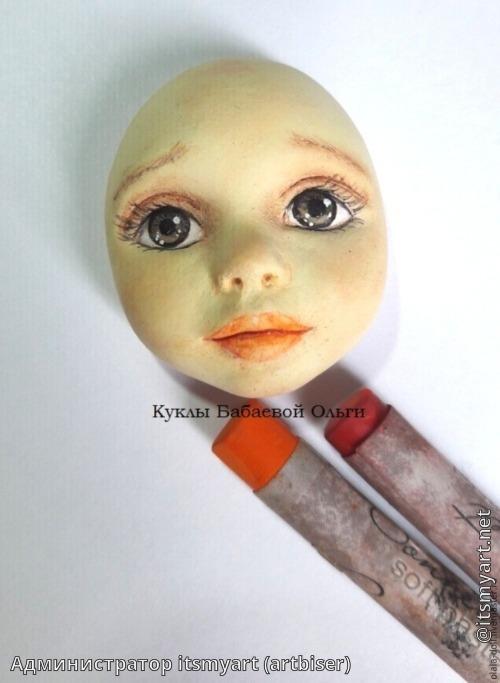 Лица своими руками для кукол