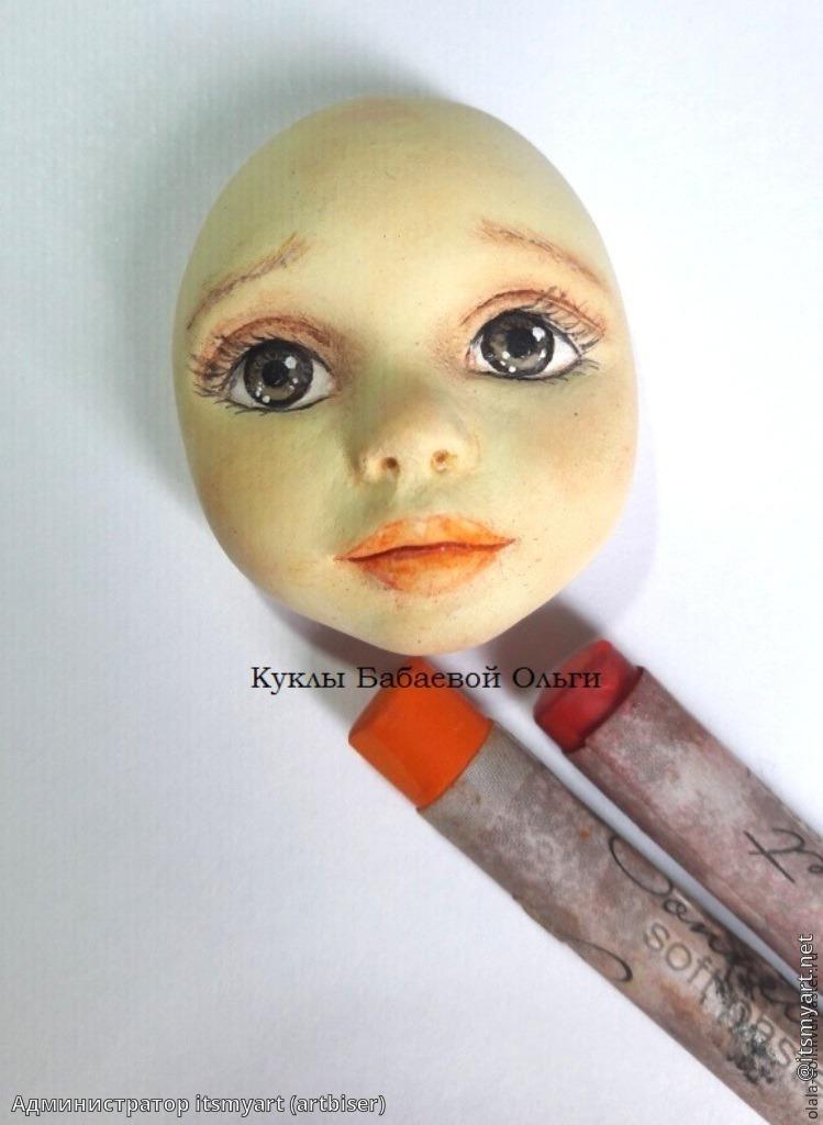 Лицо кукле папье мастер класс - Салон красоты