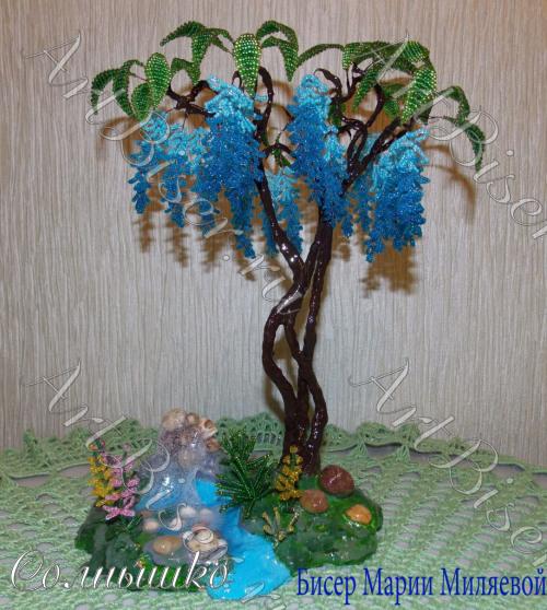 Бисер дерево своими руками фото