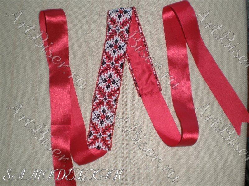 Вышивка атласными лентами наволочки для декоративных 65