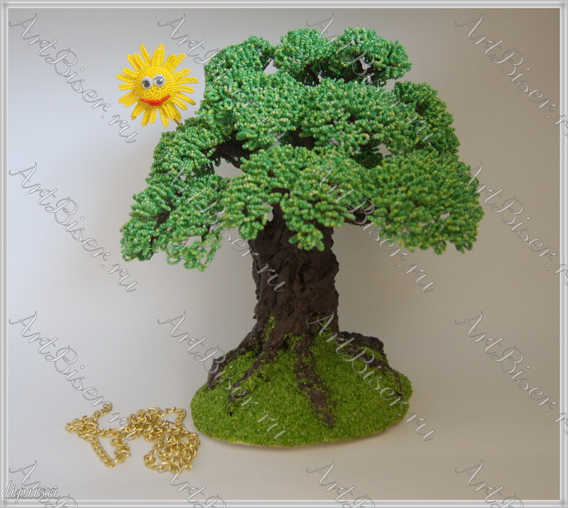 Поделка у лукоморья дуб зеленый - Родная тропинка 95