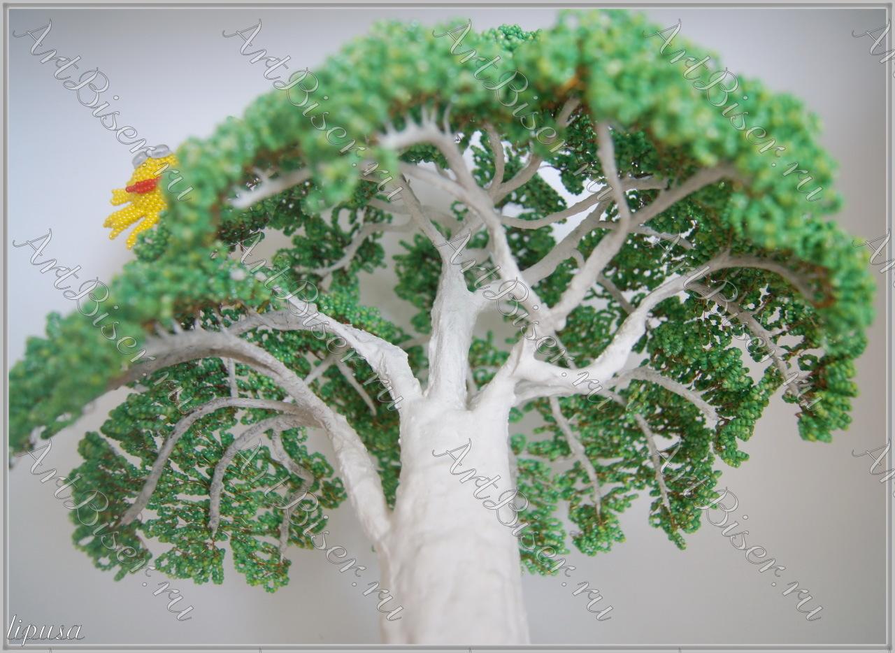 Поделка у лукоморья дуб зеленый - Родная тропинка 20