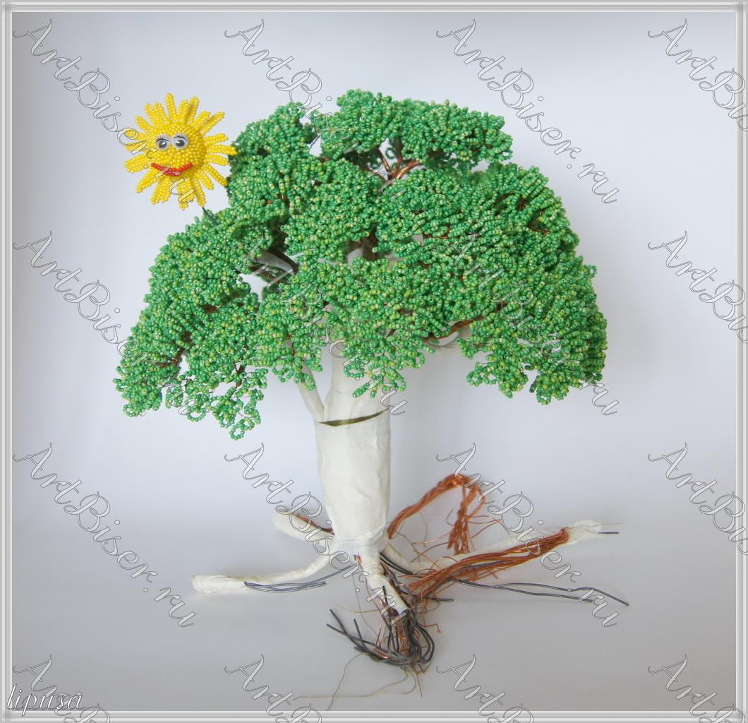 Поделка у лукоморья дуб зеленый - Родная тропинка 50