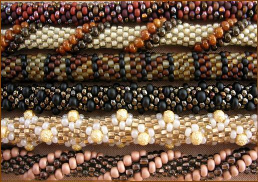 схемы вязания жгутов из бисера мастер класс бисероплетение