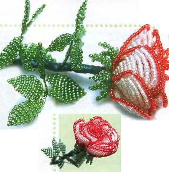 Схемы бисероплетения цветов с пошаговым фото