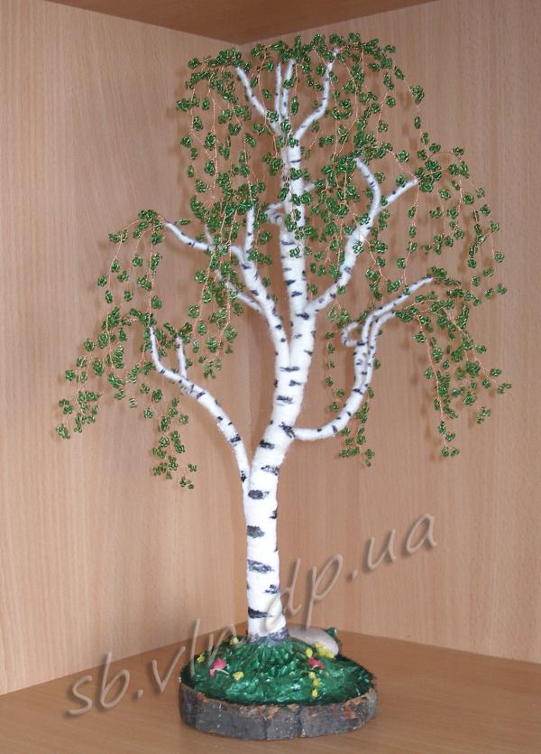 Бисер дерево берёза
