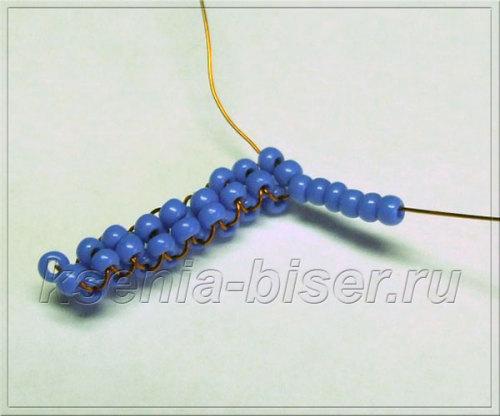 Шаг 32 - Объемный дракон из бисера: мастер-класс. Схема плетения дракончика из бисера для начинающих